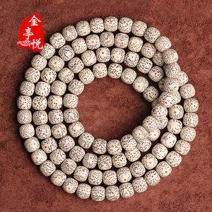 正宗海南毛感料老形桶星月菩提108颗佛珠手串菩提子男女手链饰品