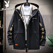 Playboy men's coat spring and autumn 2020 spring new Korean Trend handsome function tooling jacket clothes