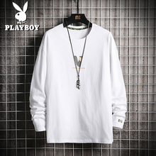 Playboy spring sweater men's spring and autumn Korean Trend men's bottoming shirt long sleeve T-shirt fashion brand clothes