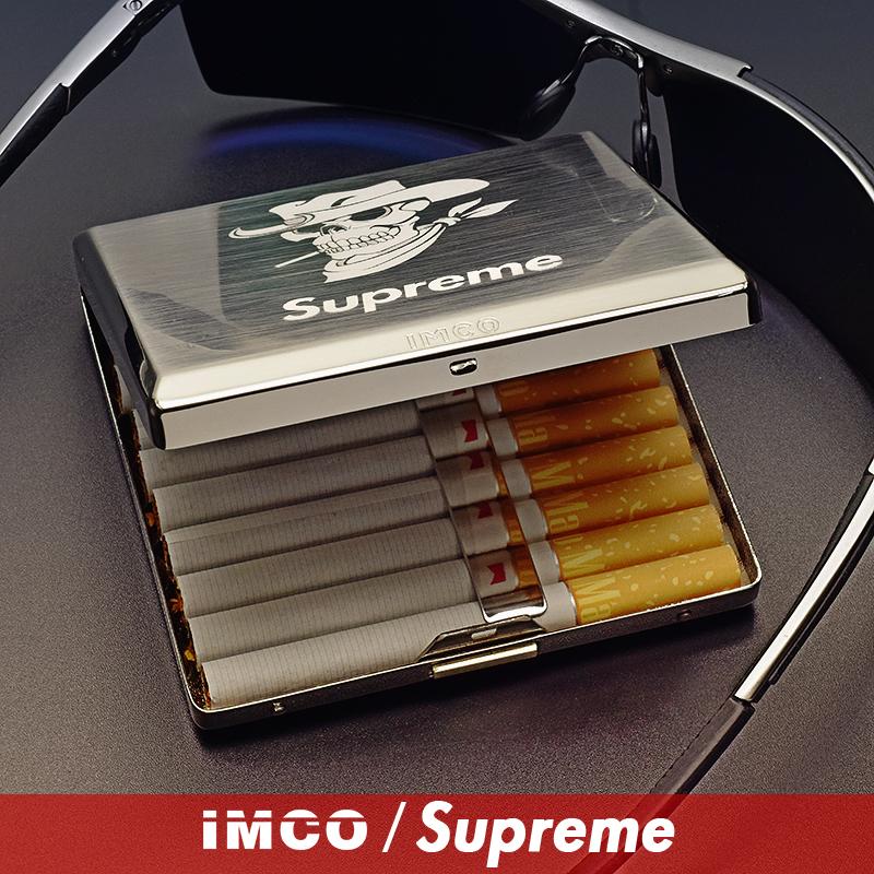 10月19日最新优惠奥地利进口imco不锈钢supreme烟盒