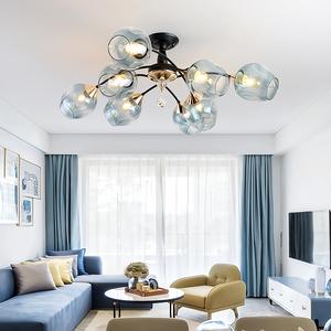 现代简约吸顶灯LED北欧客厅灯饰创意现代主卧室餐厅清新美式灯具