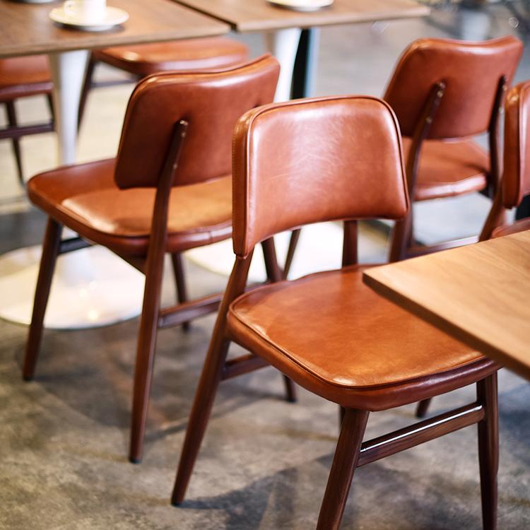 美式餐椅工业风loft铁艺复古椅子咖啡餐厅椅设计师酒店创意靠背椅