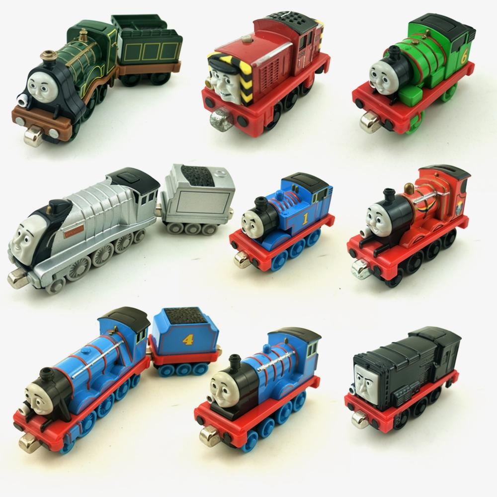 托马斯小火车头 磁性合金模型 轨道玩具 史宾赛,沙弟 声光版