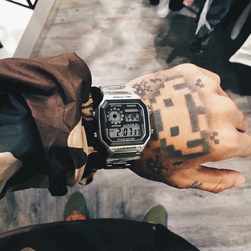 【电池用十年】卡西欧ins复古男手表