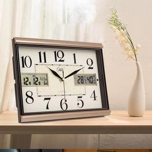 家用康巴丝静音学生创意简约床头钟