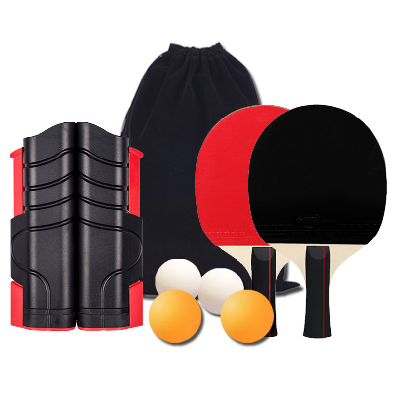 The portable thickened table tennis grid with postal service can be freely retracted and expanded. The table tennis grid with net soldier is commonly used indoors and outdoors