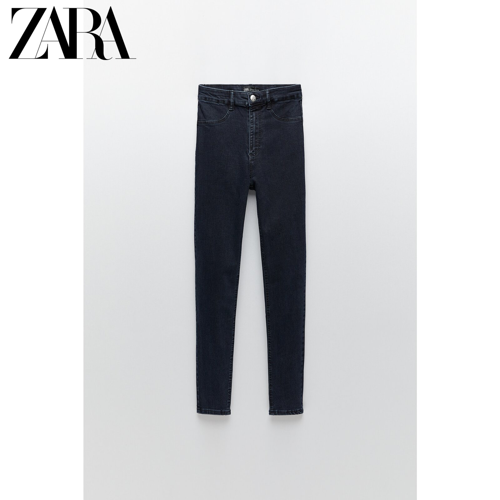 ZARA new TRF women's super stretch high waist skinny jeans 05520203462