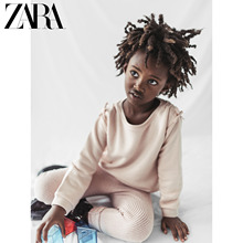 Zara discount new baby girls' bow decoration solid color sweater 03336612620