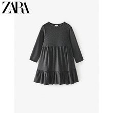 Zara new children's clothing girls' new spring and summer layered decorative dress 01165605802