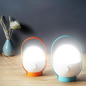 康铭LED充电灯家用停电备用应急灯户外无线灯泡超亮移动照明神器