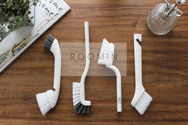 Roomin иморт из японии щетка туалет мех нет мертвый угол сковорода завод волосы туалет щетка ванная комната очистка щеткой