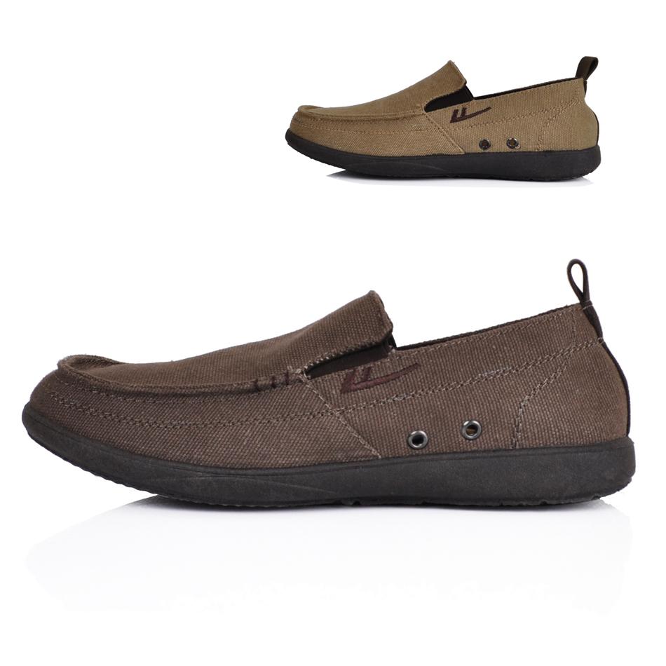 回力专卖店一脚蹬驾车鞋男帆布鞋