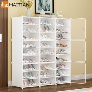 鞋架子置物架家用防尘简易鞋柜经济型宿舍放门口收纳神器室内好看