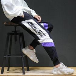 208-K919-P55 原创全棉日系原宿街拍大码宽松版休闲裤运动裤控75