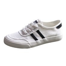 Humanistic Canvas Shoes Female Mesh Air-permeable Balloon Shoes Skycat Summer 2019 New Korean Mesh Hollow Small White Shoes