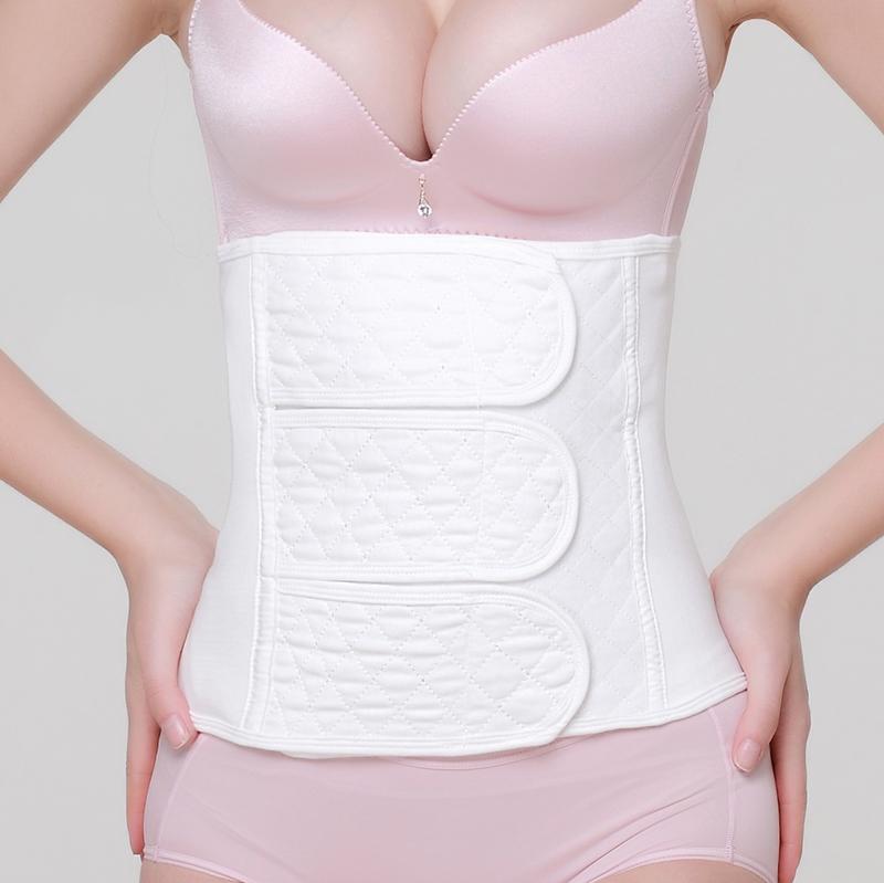 產婦收腹帶 純棉紗布產後束縛帶順產剖腹產 塑身束腹帶瘦身