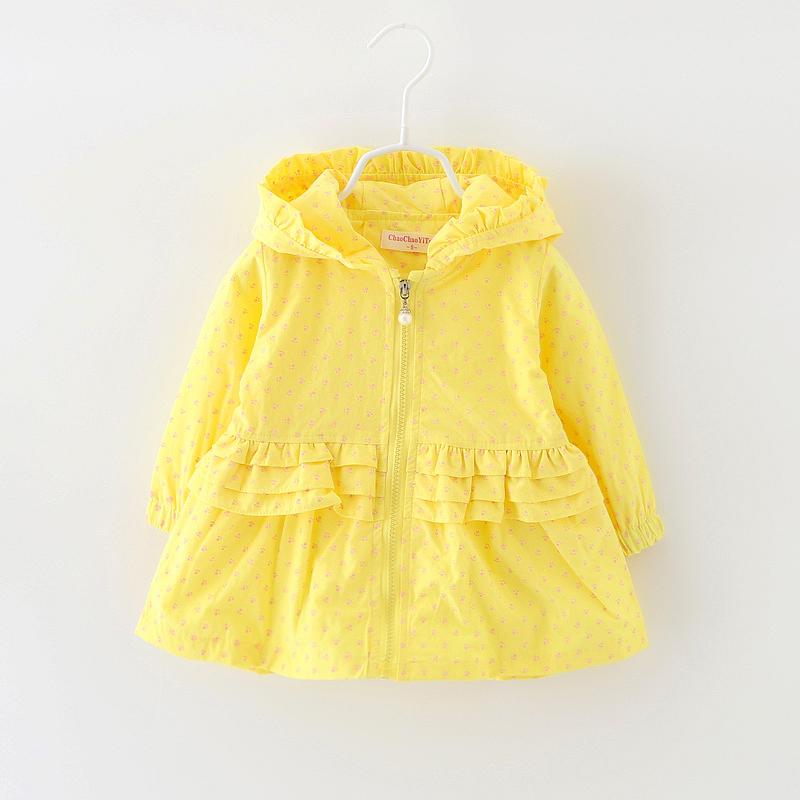 女童女寶寶兒童春秋風衣