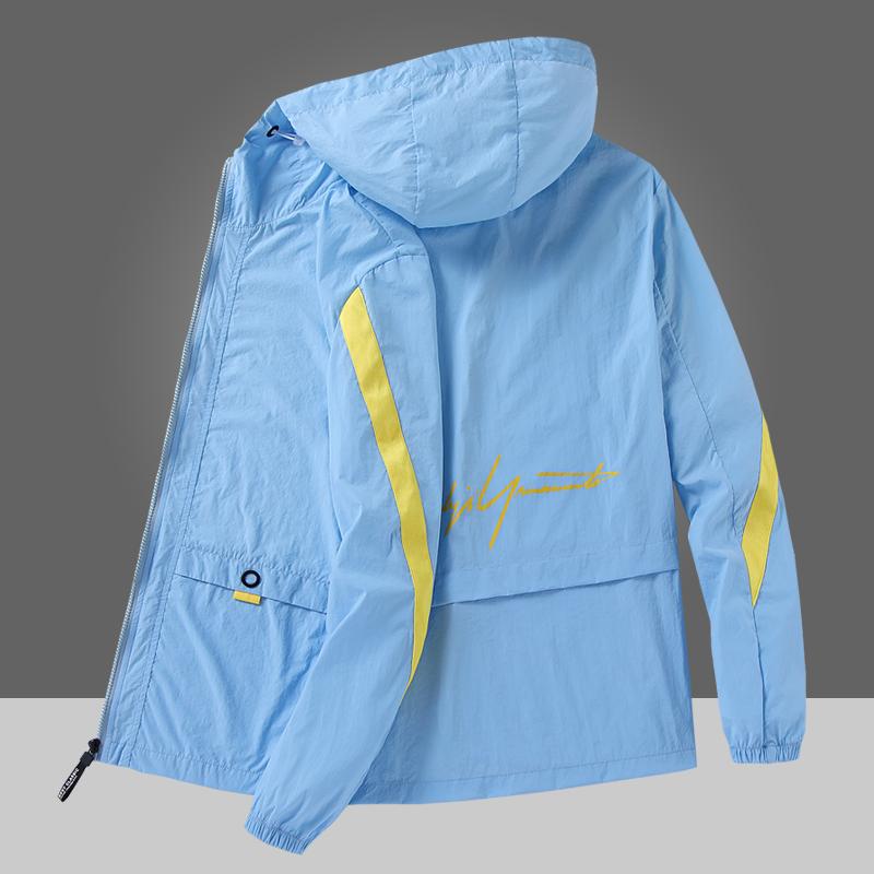 男士防晒衣超薄外套夏款2020夹克男装韩版潮流宽松帅气休闲皮肤衣图片