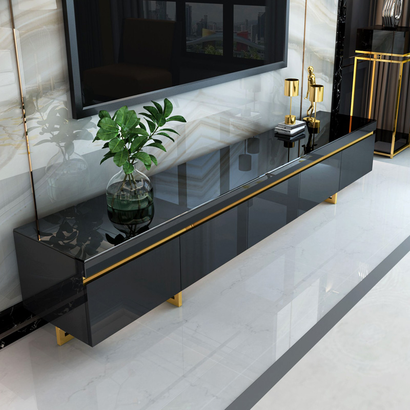 丽蒙保轻奢电视柜现代简约茶几组合套装客厅电视机柜子家用家具