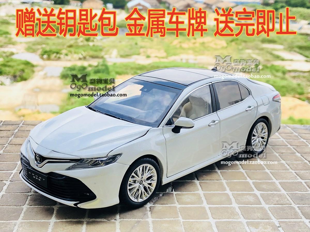 原厂广汽丰田 全新第八代凯美瑞 TOYOTA CAMRY 1:18 合金汽车模型