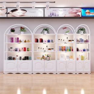 化妆品展示柜陈列柜美容院产品货柜家用货架展示架超市商用小落地