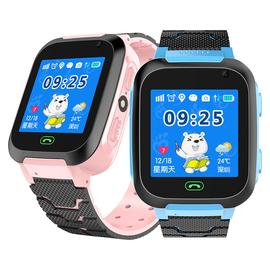 儿童电话手表学生GPS定位触屏多功能智能手机打电话男孩女孩防水可爱天才小孩