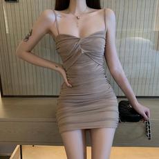 2020显瘦新款裙子抹胸夜场气质女装性感修身吊带裙包臀连衣裙女夏