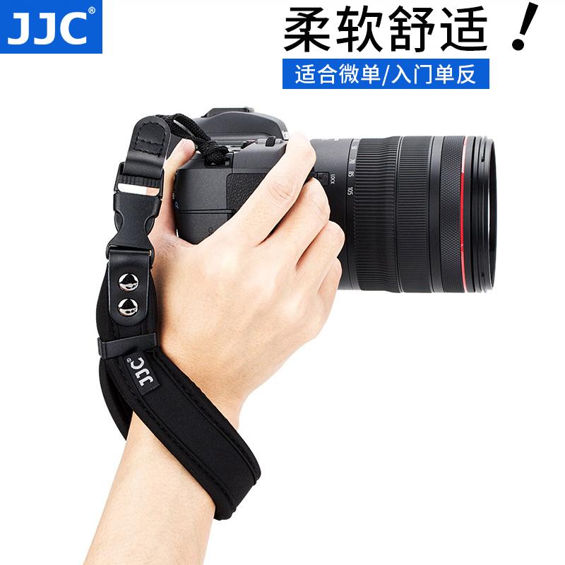 JJC 微单单反相机手腕带佳能M50 750D 800D 200D R RP索尼A6400 A6000 A7R3 A7M3尼康D5600 D3400 Z7/6手提带
