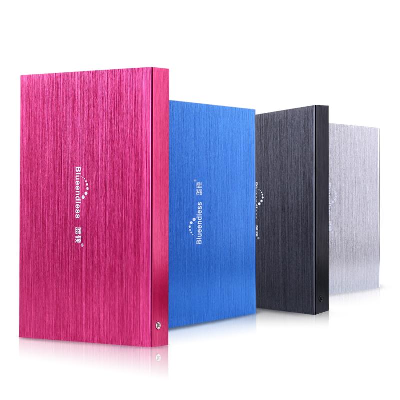 藍碩移動硬盤80G 迷你超薄高速存儲移動硬盤100g 可加密