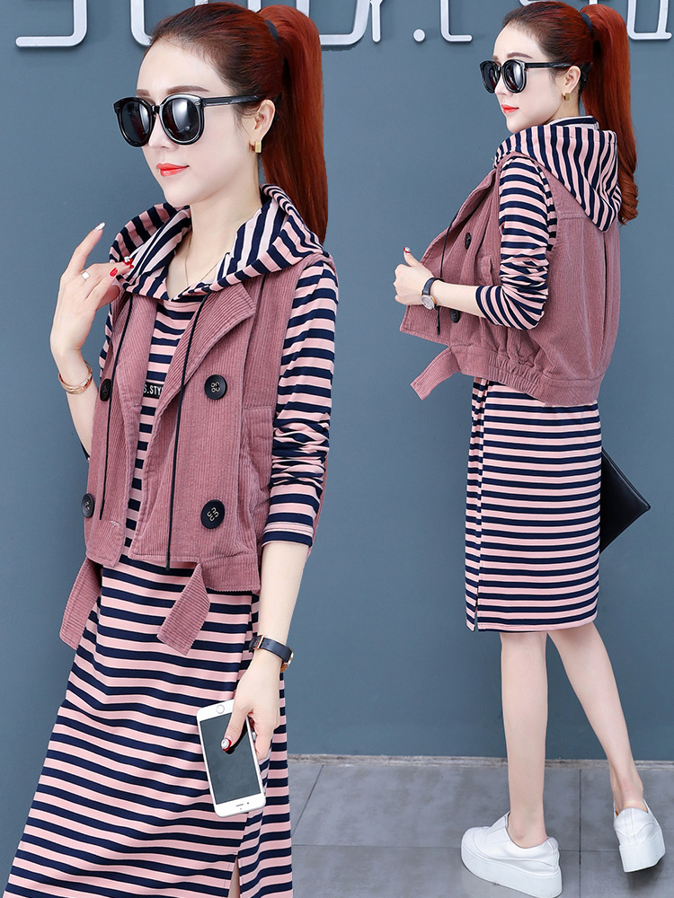 Casual dress women's spring and autumn clothing new fashion