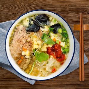 秦圣陕西羊肉泡馍速食食品半成品 西安特产网红美食小吃名吃4袋装