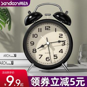 大音量小闹钟学生多功能卡通时钟表