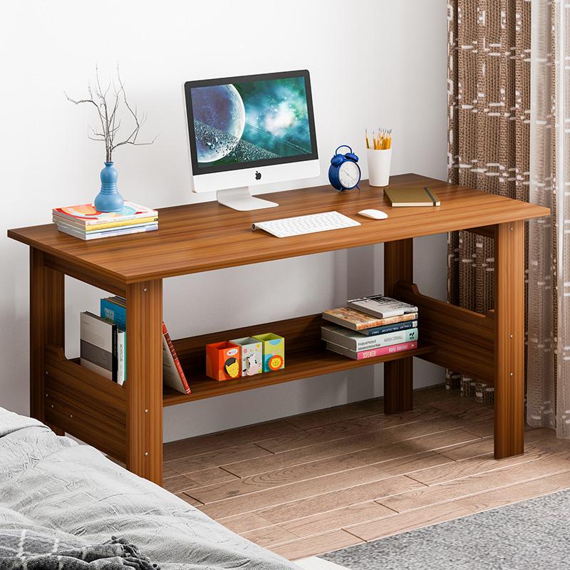 满116.00元可用63元优惠券电脑台式桌简易家用经济型写字桌简约卧室办公桌学生书桌现代桌子