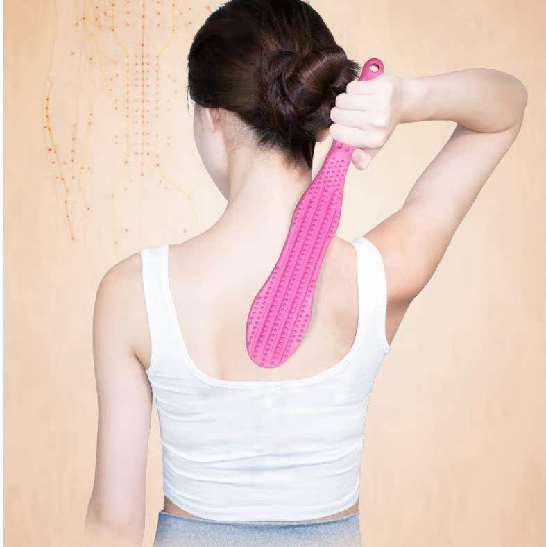 经络拍痧板硅胶橡胶全身家用摩锤子敲打捶健身养生排沙板砂莎