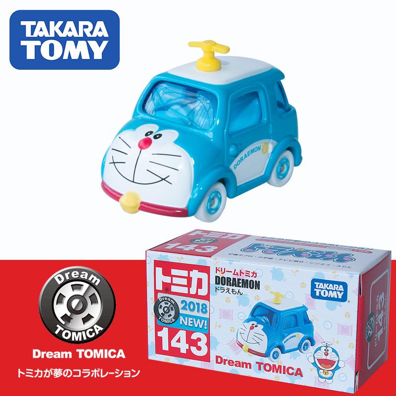 日本TOMICA多美卡玩具小汽车卡通合金车 143#机器猫叮当猫哆拉A梦