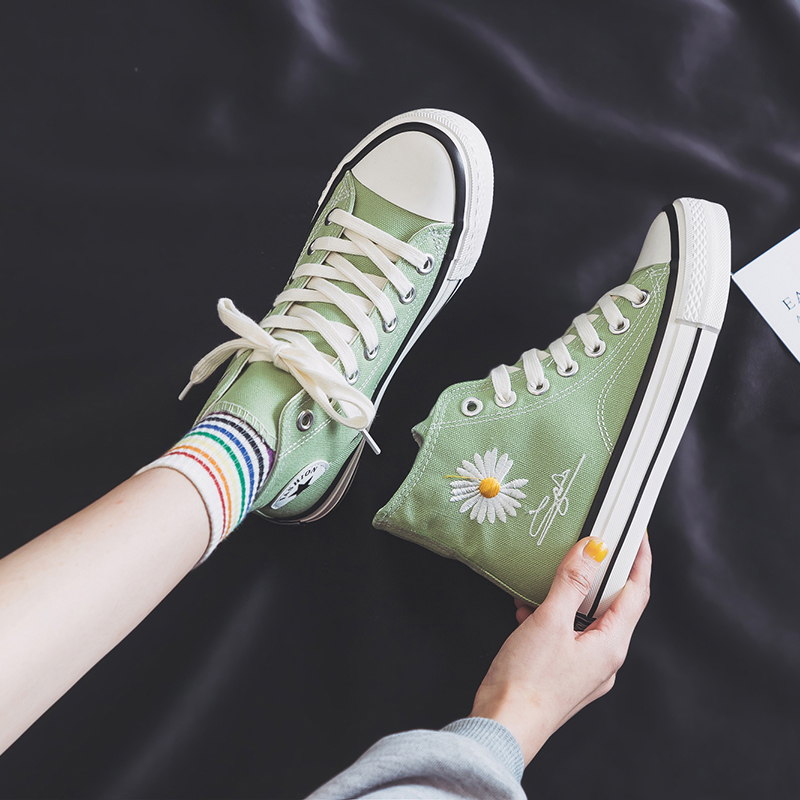 Lovers canvas shoes women 2020 summer ulzzang versatile casual board shoes Korean version versatile biscuit board shoes women thin