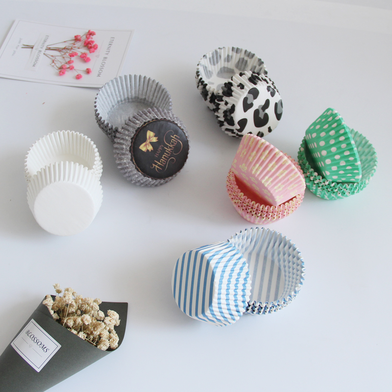 耐高温蛋糕纸杯纸托 马芬杯 雪媚娘纸托包装 蛋糕纸垫圆形 烤箱用