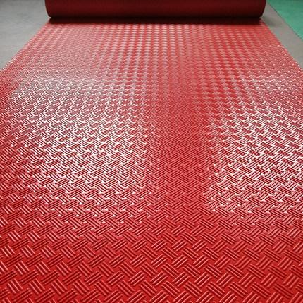 PVC阻燃防滑地垫橡胶塑料地毯地板垫子车间满铺走廊过道耐磨防水