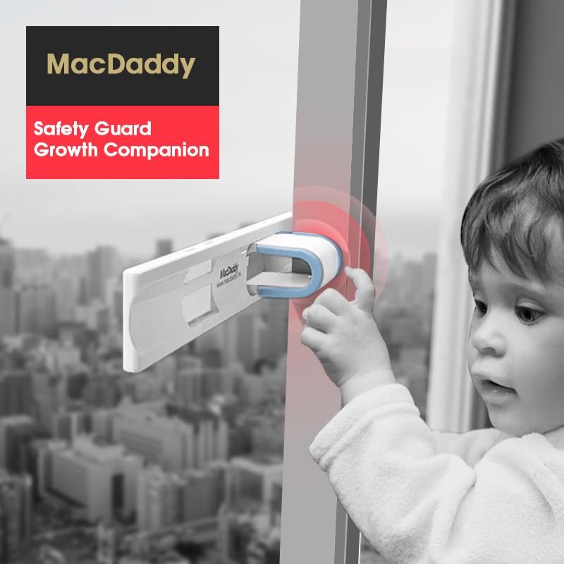 MacDaddy Anti-Drop волшебный замок push-pull окно Hu An полностью запирать детские Блокировка противоугонной фиксирующей пряжи окно Смещение сдвига дверь стопор