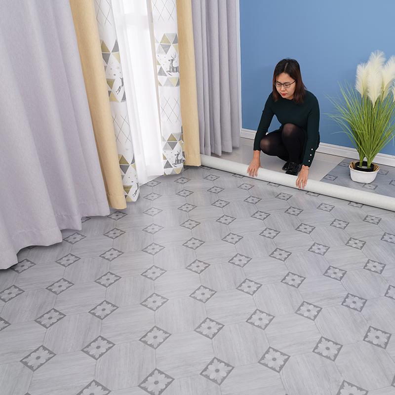 pvc地板革加厚耐磨防水泥地面