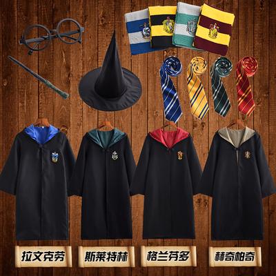 哈利波特cosplay衣服装长袍 格兰芬多儿童表演魔法袍斗篷周边校服