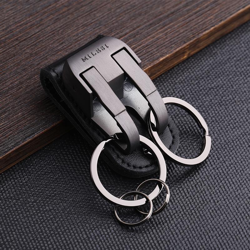 10月10日最新优惠男穿皮带腰挂式裤子汽车锁匙钥匙扣