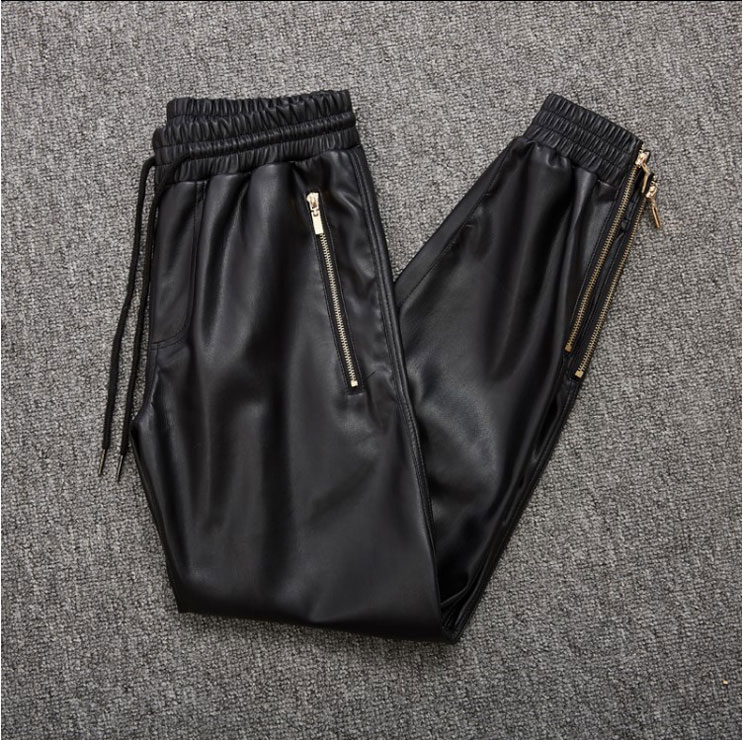 Кожаные брюки Артикул 585877993153
