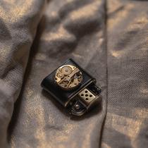 TSHOMX纯铜复古机芯原创设计煤油老式防风个姓定制礼物打火机男