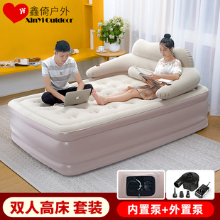 充气床垫家用单人双人加厚加高龙猫气垫床折叠户外便携懒人气垫床图片