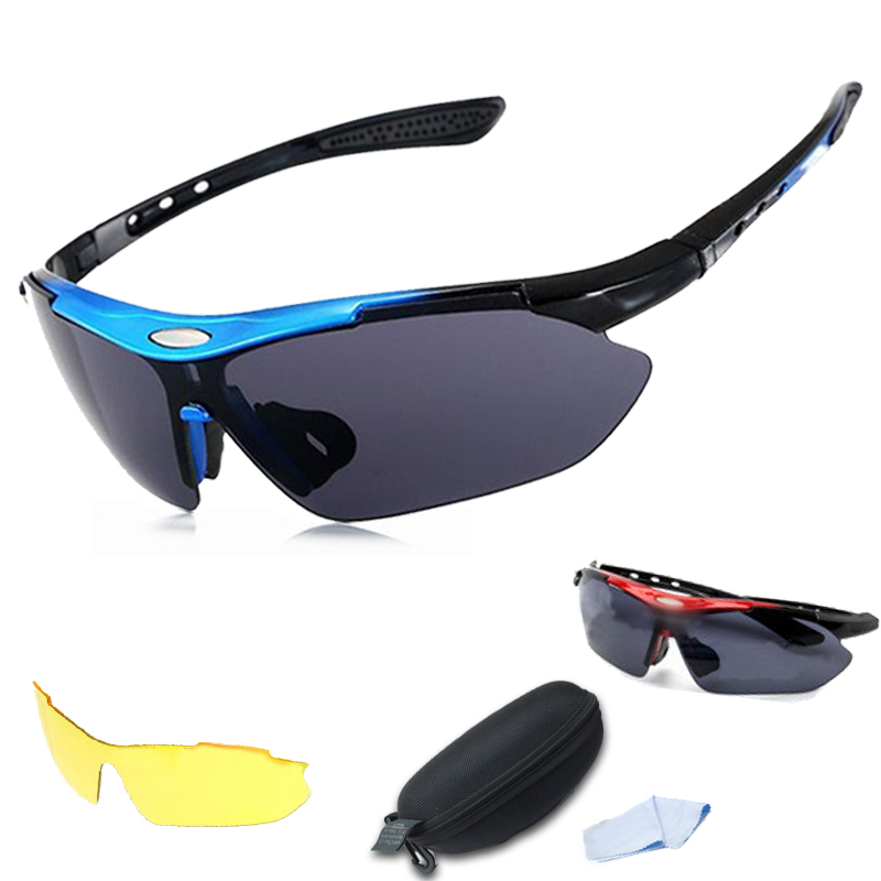 Cycling, running, outdoor sports, cycling, polarizing myopia sunglasses for men and women, windproof sports glasses