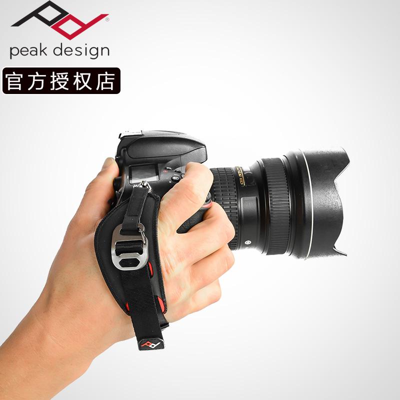巅峰Peak Design单反相机腕带Clutch佳能尼康多功能海帕伦手腕带