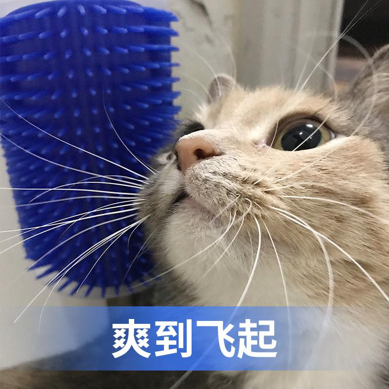 猫玩具猫咪蹭痒器墙角蹭毛器挠痒猫用猫抓板薄荷逗猫猫咪用品全套