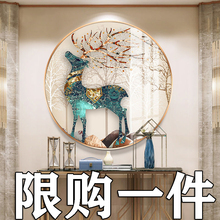 2020 new 5D diamond painting full of diamond deer living room crystal DIY manual point tiling cross stitch 2019