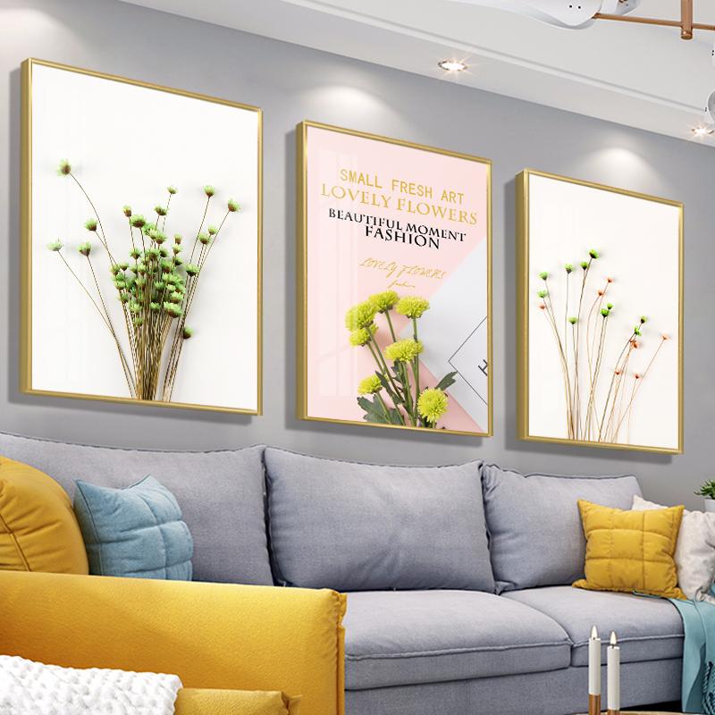 现代简约床头北欧抽象客厅装饰画质量如何?